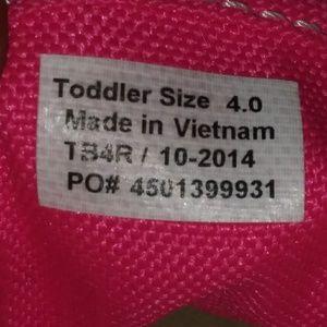 Used pink vans sneakers